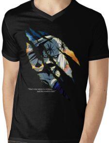 Shishio Makoto Mens V-Neck T-Shirt