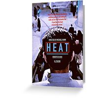 HEAT 9 Greeting Card