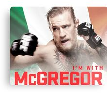 Ufc 202 Im With McGregor Here to Takeover Metal Print