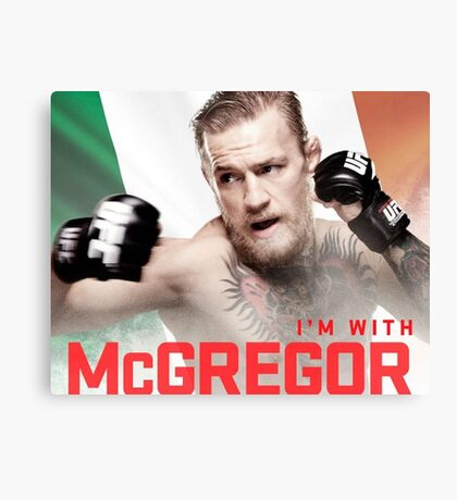 Ufc 202 Im With McGregor Here to Takeover Canvas Print