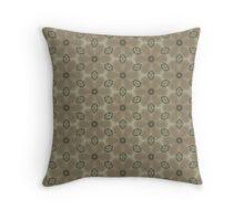 Gray Design Throw Pillow