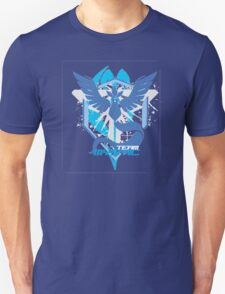 Bad ASH Pokemon Go Team Mystic Shirt  Unisex T-Shirt