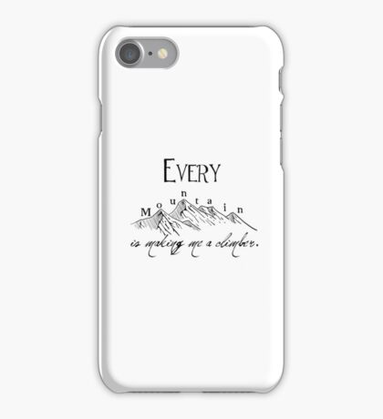 Every Mountain iPhone Case/Skin