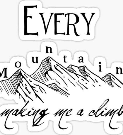 Every Mountain Sticker
