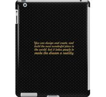 You can design and create... Inspirational quote iPad Case/Skin