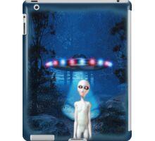 Forest UFO Close Encounter iPad Case/Skin