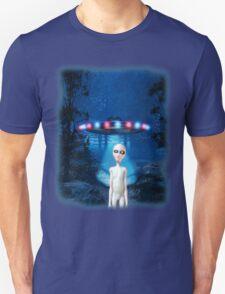 Forest UFO Close Encounter T-Shirt