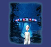 Forest UFO Close Encounter Unisex T-Shirt
