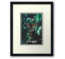 """Kill All"" '14 Japanese Shirt Framed Print"