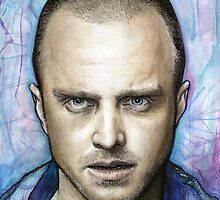 Jesse Pinkman - Breaking Bad by OlechkaDesign