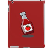 Cartoon Ketchup Bottle iPad Case/Skin