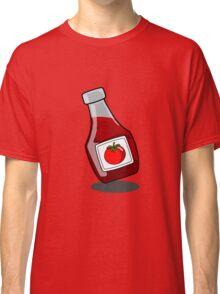 Cartoon Ketchup Bottle Classic T-Shirt
