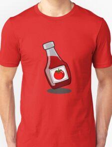 Cartoon Ketchup Bottle T-Shirt