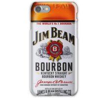 Jim Beam Bourbon iPhone Case/Skin