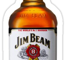 Jim Beam Bourbon Sticker