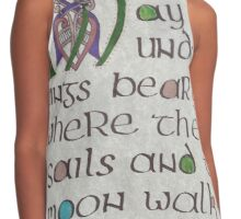 Book of Tolkein Contrast Tank