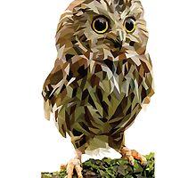 Crystalline Owl by Mushu11