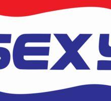 Spoof Parody Funny Sexy Logo Sticker