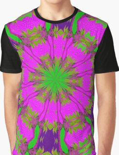 Flowery Fun. Graphic T-Shirt