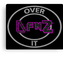 D f'n Z Over It - Dolph Ziggler Canvas Print