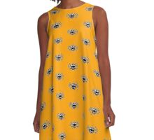 Smiling Spider A-Line Dress