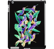 Hummingbird Dance in Sharpie (Inversion Edition) iPad Case/Skin