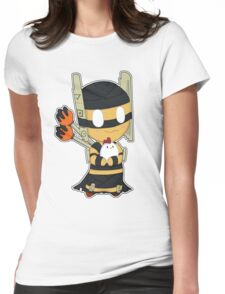 Shadow Shaman Chibi Style Womens Fitted T-Shirt