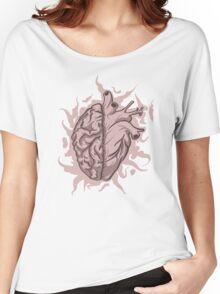 Brainheart Logo Women's Relaxed Fit T-Shirt