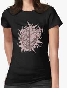 Brainheart Logo Womens Fitted T-Shirt