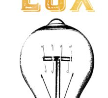 Post Tenebras Lux Sticker