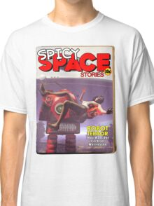Spicy Space Stories Fake Pulp Cover Classic T-Shirt