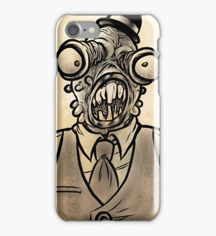 Horrible Fish Man iPhone Case/Skin