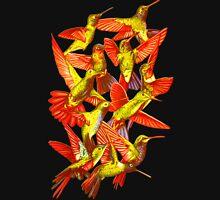 Hummingbird Dance in Sharpie (FireBird Edition) Womens Fitted T-Shirt