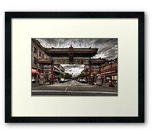 China town Victoria Framed Print
