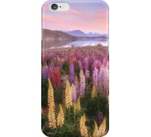 Lake Tekapo Lupins iPhone Case/Skin