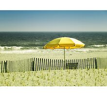 Sitting By The Shore Photographic Print