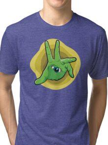 Hand Eye Coordination Tri-blend T-Shirt