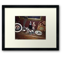 The Shelf of Madness Framed Print