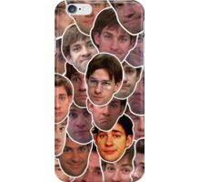 Jim Halpert Collage iPhone Case/Skin