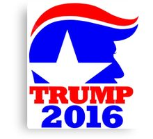 Trump 2016 Campaign Art Canvas Print
