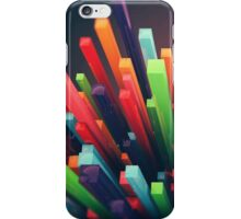 Colorful Cubic Abstract iPhone Case/Skin