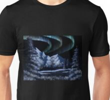 Bob Ross Alaskan Northern Lights Unisex T-Shirt