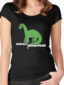 Badass Herbavore Women's Fitted Scoop T-Shirt