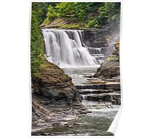 Genesee River Lower Falls at Letchworth Poster
