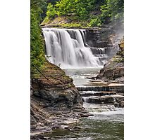 Genesee River Lower Falls at Letchworth Photographic Print