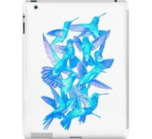 Hummingbird Dance in Sharpie (IceBird Edition) iPad Case/Skin