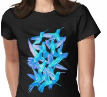 Hummingbird Dance in Sharpie (IceBird Edition) Womens Fitted T-Shirt