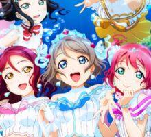 Love Live! Sunshine!! - Koi ni Naritai AQUARIUM Sticker
