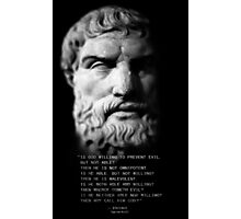 Epicurus iPhone Photographic Print