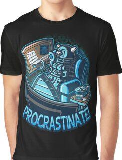 procrastinate Graphic T-Shirt